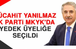 Mücahit Yanılmaz AK Parti MKYK'da Yedek Üyeliğe...