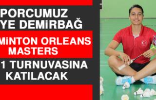 Sporcumuz Aliye Demirbağ, Masters 2021 Turnuvasına...