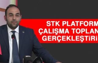 STK Platformu Çalışma Toplantısı Gerçekleştirildi