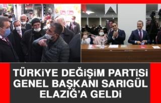 Türkiye Değişim Partisi Genel Başkanı Sarıgül...