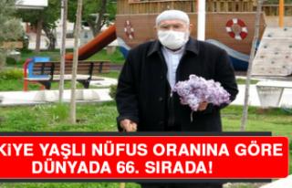 Türkiye, Yaşlı Nüfus Oranına Göre Dünyada 66....
