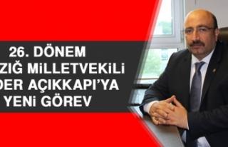 26. Dönem Elazığ Milletvekili Ejder Açıkkapı'ya...