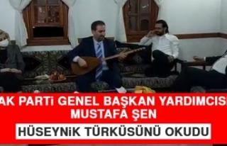 AK Parti Genel Başkan Yardımcısı Şen, Hüseynik...