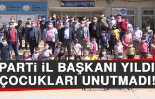 AK Parti İl Başkanı Yıldırım Çocukları Unutmadı