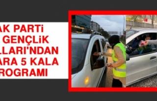 AK Parti İl Gençlik Kolları'ndan İftara 5...