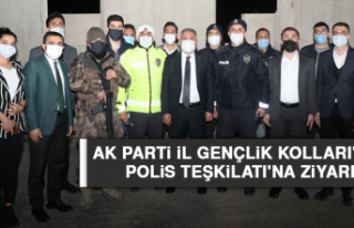 AK Parti İl Gençlik Kolları'ndan Polis Teşkilatı'na...