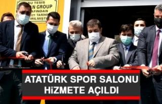 Atatürk Spor Salonu Hizmete Açıldı