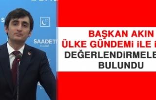 Başkan Akın, Ülke Gündemi İle İlgili Değerlendirmelerde...