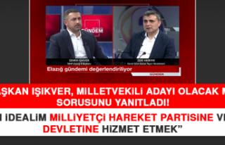 Başkan Işıkver, Milletvekili Adayı Olacak Mı?...