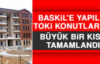 Baskil'deki deprem konutlarının %90'ı tamamlandı