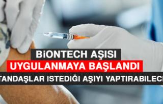 BİONTECH Aşısı Uygulanmaya Başlandı