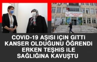 Covid-19 Aşısı İçin Gitti, Kanser Olduğunu Öğrendi...
