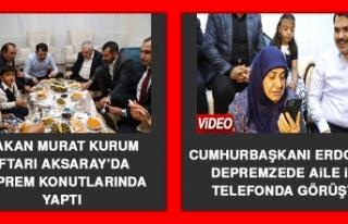 Cumhurbaşkanı Erdoğan Depremzede Aile İle Telefonda...