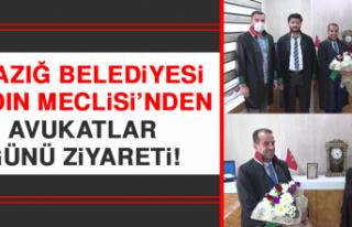 Elazığ Belediyesi Kadın Meclisi'nden Avukatlar...