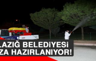Elazığ Belediyesi Yaza Hazırlanıyor
