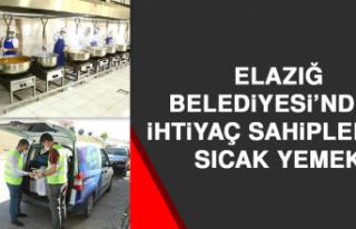Elazığ Belediyesi'nden İhtiyaç Sahiplerine Sıcak...