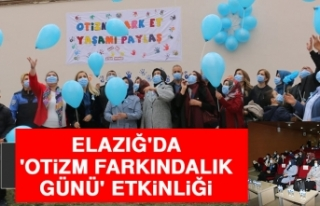 Elazığ'da 'Otizm Farkındalık Günü'...