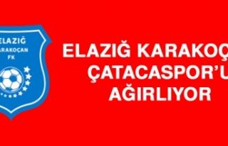 Elazığ Karakoçan, Çatacaspor'u Ağırlıyor