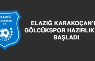 Elazığ Karakoçan'da Gölcükspor Hazırlıkları...