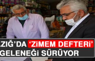 Elazığ'da 'Zimem Defteri' Geleneği Sürüyor
