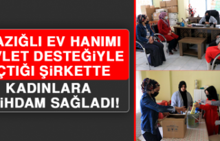 Elazığlı Ev Hanımı, Devlet Desteğiyle Açtığı...