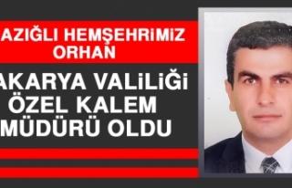 Elazığlı Hemşehrimiz Orhan Sakarya Valiliği Özel...