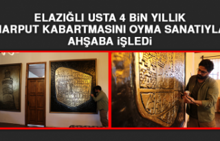 Elazığlı Usta 4 Bin Yıllık Harput Kabartmasını...