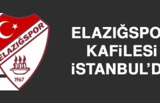 Elazığspor Kafilesi İstanbul'da
