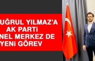 Ertuğrul Yılmaz'a, AK Parti Genel Merkez de Yeni...