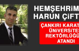 Hemşehrimiz Çiftçi, Çankırı Karatekin Üniversitesi...
