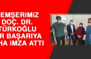 Hemşerimiz Doç. Dr. Türkoğlu Bir Başarıya Daha...