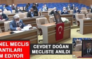 İl Genel Meclis Toplantıları Devam Ediyor