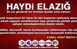 Kanal Fırat Medya Grubu Tarafından Kampanya Başlatıldı