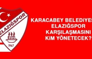 Karacabey Belediyespor-Elazığspor Karşılaşmasını...