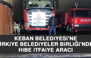 Keban Belediyesi'ne Türkiye Belediyeler Birliği'nden...