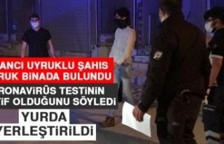 Metruk Binada Bulunan Yabancı Uyruklu Şahıs Yurda...