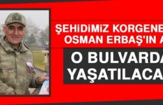 Osman Paşamızın Adı O Bulvarda Yaşatılacak