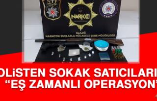 Polisten Sokak Satıcılarına Eş Zamanlı Operasyon