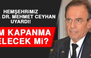 Prof. Dr. Mehmet Ceyhan Uyardı! Tam Kapanma Gelecek...