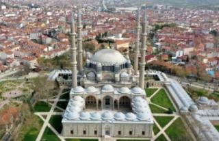 Selimiye Camii'nin kapsamlı restorasyonu bu...
