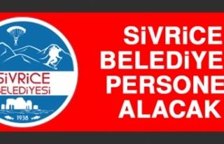 Sivrice Belediyesi Personel Alacak