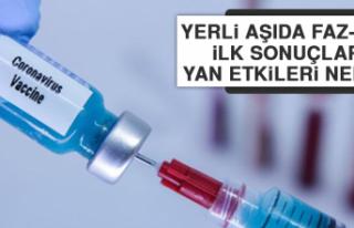 Yerli aşıda Faz-2'nin ilk sonuçları: Yan...
