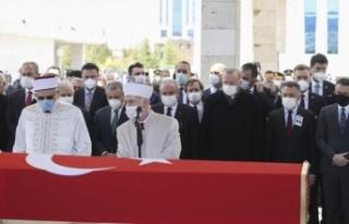 Yıldırım Akbulut için Meclis'te cenaze töreni...