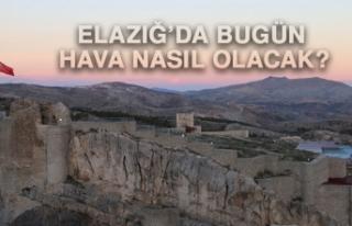 11 Mayıs'ta Elazığ'da Hava Durumu Nasıl Olacak?