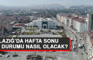 1 Mayıs'ta Elazığ'da Hava Durumu Nasıl Olacak?
