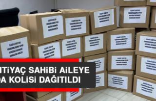 300 İhtiyaç Sahibi Aileye Gıda Kolisi Dağıtıldı