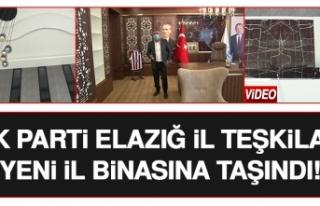 AK Parti Elazığ İl Başkanlığı Yeni Hizmet Binasına...