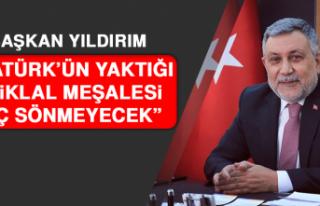 AK Parti İl Başkanı Yıldırım'dan 19 Mayıs...