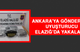 Ankara'ya Gönderilen Uyuşturucu Elazığ'da...