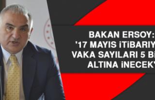 Bakan Ersoy: '17 Mayıs itibarıyla vaka sayıları...